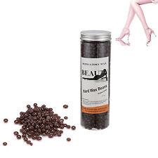 400g Depilatory Film Hard Wax Pellet Bean Waxing Body Hair Removal ~ Chocolate