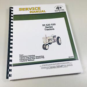 SERVICE MANUAL FOR JOHN DEERE MODEL 50 520 530 TRACTOR SM-2010 REPAIR SHOP BOOK