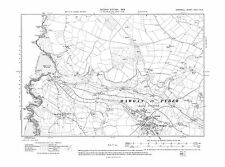 Old map of St Mawgan, Trevarrian 1908 - Cornwall, repro Corn-32-NW