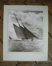 "PHOTO VINTAGE par BEKEN of COWES : LE VOILIER ""WESTWARD"" 02"