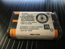 NI-MH Battery P-107 3.6V 700mAh Rechargeable Battery Cordless Phone CANADA C800