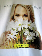 Carrie Underwood.Play On Tour.T-Shirt.New.sz Small