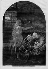 THOMAS NAST SKELETON ANGEL GHOST CIVIL WAR POST TRAUMATIC SYNDROME CANNOT SLEEP