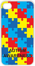 Puzzles Autism Awareness iPhone 4 / 4S Custom Picture Hard Case Cover