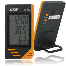 Humidity Temperature Tester Meter with Alarm Clock / thermometer and Hygrometer