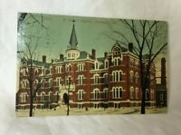 *1915 ST. MARY'S HOSPITAL EVANSVILLE INDIANA Postcard