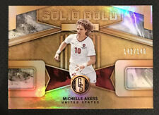 2019-20 Panini Gold Standard Michelle Akers Solid Gold #142/149 - USWNT