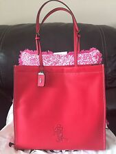 Coach X Disney Mickey Mouse Skinny Tote Red Sold Out 1941 NWT Original Release!!