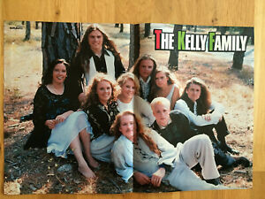 The Kelly Family BRAVO Poster, 90er Jahre, ca. DIN A 3-Format