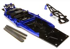 Integy Billet Traxxas Slash 2WD LCG Chassis Kit VXL Low Center Gravity Blue