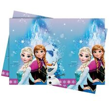 DISNEY FROZEN ANNA ELSA OLAF BIRTHDAY PARTY PLASTIC TABLECLOTH TABLE COVER!