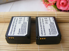 2PCS BP-1030 Battery For Samsung NX200 NX210 NX2000 NX300 1000 NX1100 SBC-1030