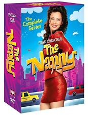 THE NANNY 1-6 1993-2004: COMPLETE Fran Fine Drescher TV Season Series NEW DVD R1