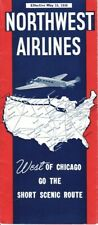 Northwest Airlines timetable 1936/05/15