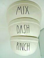 Magenta Rae Dunn Artisan MIX DASH PINCH Nesting Mixing Bowls