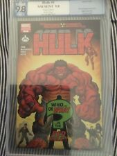 1st Appearance RED HULK variant 2008, Limited 1500 Prints 9.8 Hot New Movie Soon