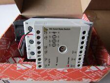 Carlo Gavazzi 42 A Solid State Relay cruce de cero, Riel Din 660Vac H9P3 8573115