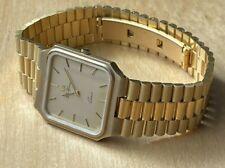 Lucien Piccard Da Vinci Vintage 70's Swiss Gold Tone Gents Watch Magnificent