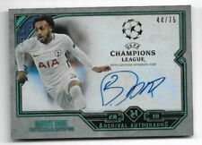 2017-18 Topps Champions League Museum Auto Card :Danny Rose #44/75