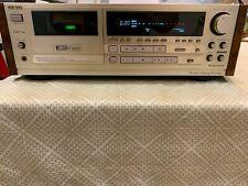 Aiwa Xk-S9000 Cassette Deck; Rosewood Panels; Rare Find!