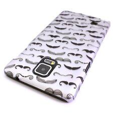 For Samsung Galaxy Note 4 Case - Mustache Design Hard Phone Slim Cover