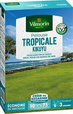 Vilmorin 4344512 Pelouse Tropicale Kikuyu Vert 500 G