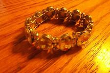 magnet bracelet with clear stones
