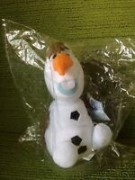 """FROZEN - OLAF 9"""" PLUSH SOFT TOY - DISNEY STORE - NEW WITH TAGS IN PACKET"""