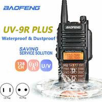 Baofeng UV-9R Plus Walkie Talkie Sprechfunkgeräte Handfunkgerät 10km UHF/VHF