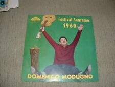 """DOMENICO MODUGNO  SANREMO'60 """" LIBERO - NUDA """"  ITALY'60"""
