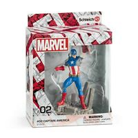 Schleich Marvel Captain America Figure NEW Collectible Toys