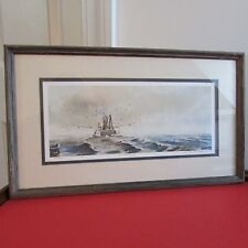Framed, Signed, Numbered Ann Nicholls Williams Print, The Fisher King