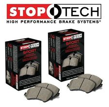 For Chevrolet Corvette Cadillac XLR Front & Rear Sport Brake Pads Set StopTech