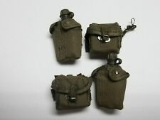 1/6 Scale Hot Toys MMS135 Platoon Chris Taylor - canteens w/ammo pouches