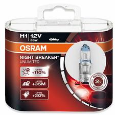 OSRAM h1 NIGHT BREAKER Unlimited plus 110% 2er set. 64150nbu p14, 5s