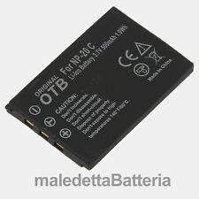Casio_NP-20 Batteria Alta Qualità per Casio Exilim Zoom EX EX-Z77 (VU4)