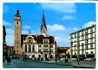 uralte AK Ingolstadt/Donau Rathausplatz mit Moritzkirche 1975 //31