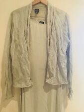 Eileen Fisher Silk Dress M And A Cardigan L