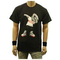 Funny Graphic T-Shirt DOG SAVAGE Printed Fashion Casual Hip Hop Humor Tee