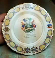 RARE old WWI 1920 Victory Souvenir Store Advertising Plate Potsdam Rochester MN