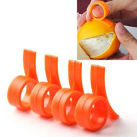 5pcs Lemon Orange Citrus Opener Peeler Plastic Slicer Cutter Kitchen Gadget Tool