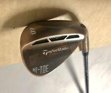 TaylorMade Hi-Toe Carbon Steel Wedge 60* KBS Tour-V Wedge Flex Steel Golf Club