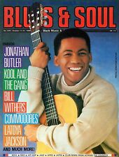 Jonathan Butler Blues & Soul 1988  Latoya Jackson  Kool & The Gang  Bill Withers