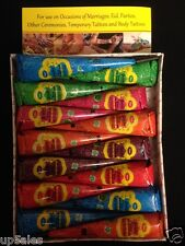 Real100 Natural Henna Paste Cones Tattoo Kit BodyArt Temporary Scented Pp13x14#