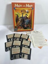 Might And Magic Dark Side Of Xeen Big Box IBM PC Interplay Game F6