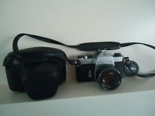 Asahi Pentax Spotmatic SP Camera SMC Takumar 55mm f/1.8 From Japan CASE TESTED