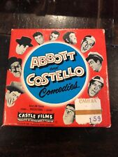 Abbott and Costello Castle 8mm Film Have Badge Will Chase 850 Comedies Box