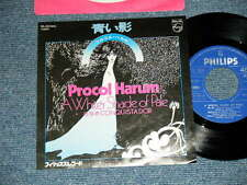 "PROCOL HARUM Japan 1976 Reissue NM 7""45  Single A WHITER SHADE OF PALE"