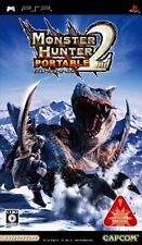 Used PSP Monster Hunter Portable 2nd CAPCOM SONY PLAYSTATION JAPAN IMPORT