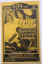 "DWIGHT YOAKAM ""TOMORROW'S SOUND TODAY TOUR"" 2000 DENVER CONCERT POSTER"